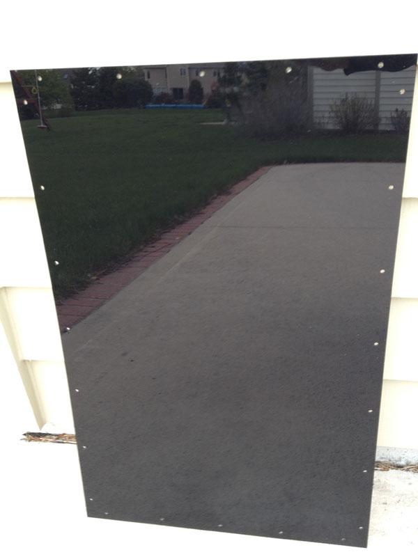Keg-panel