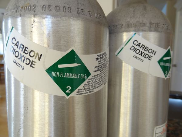 Decode co2 Bottle Markings